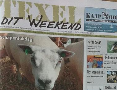 Qsenz introductie lokale krant