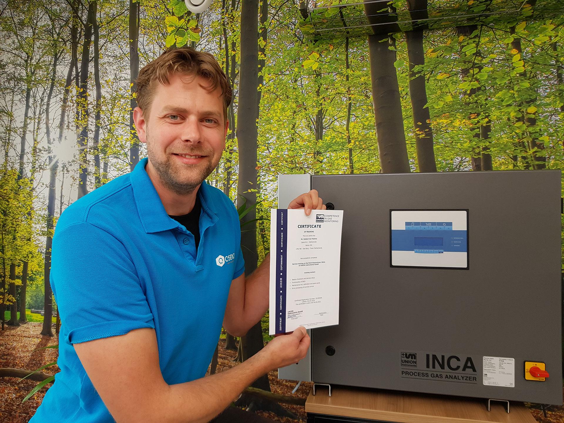 UNION Biogasanalysers